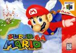 Super Mario 64 Box Art Front